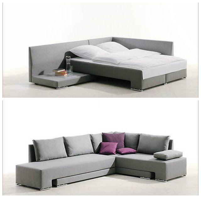 10 great space saving beds ideas para el hogar - Sofas individuales modernos ...