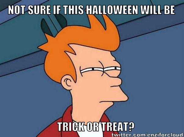 Halloween Meme! Yaay. Trick or Treat?