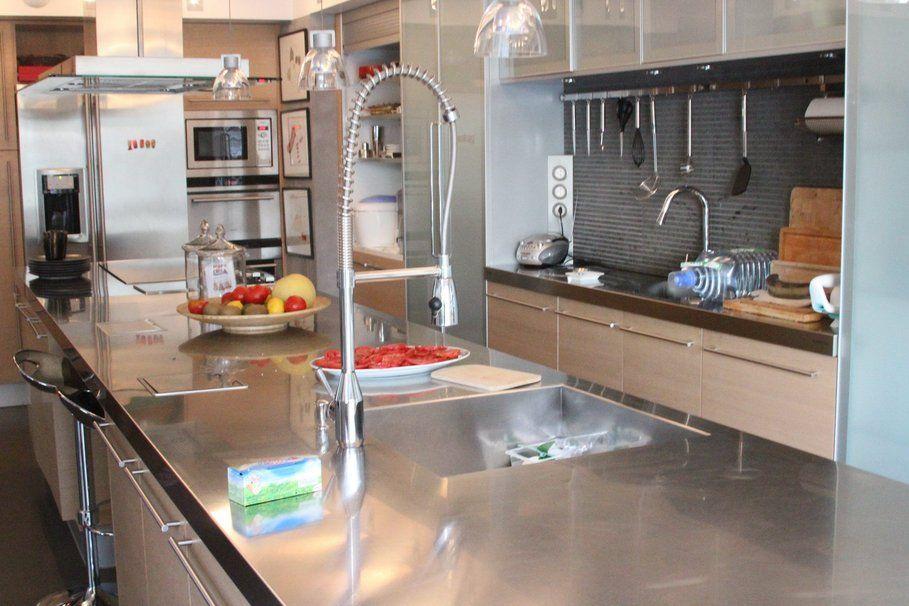 Stunning Le Décore De Cuisine Ideas Transformatorious - Meuble haut de cuisine aluminium pour idees de deco de cuisine