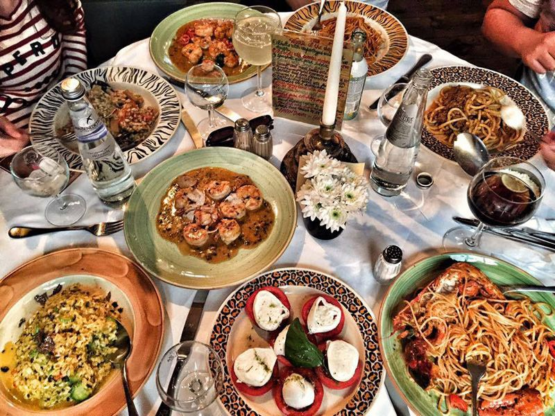 Trattoria Zà Zà has one of the largest menus. Photo ...