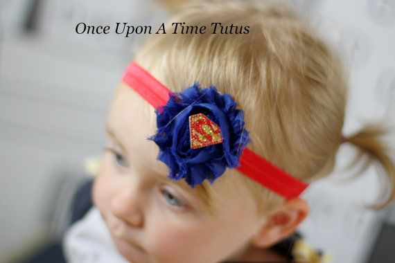 Photo Props Head accessories Supergirl Headband Girls Headbands
