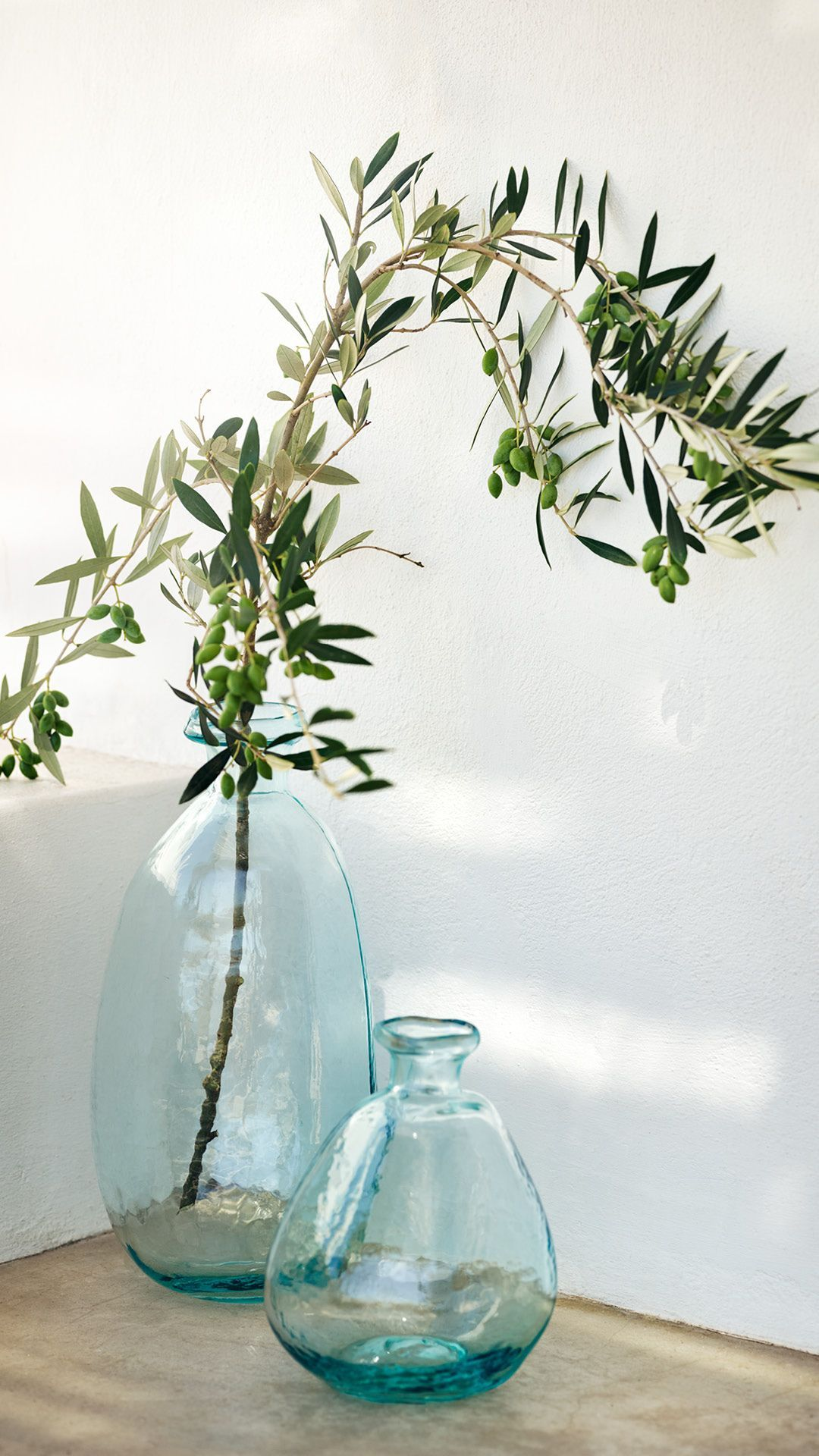 H&M Home - Fill With Flowers Or Dont Our Blue Tinted