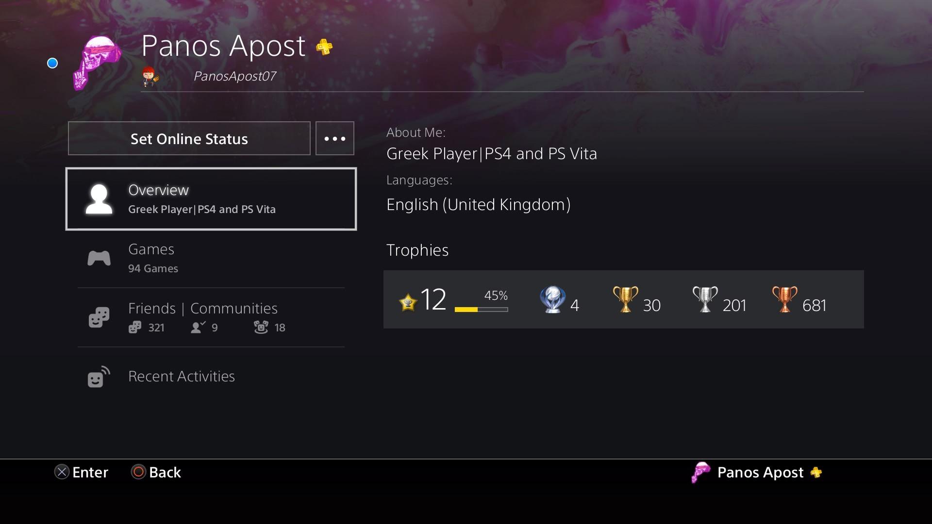 Screenshot] Just got my 4th Platinum!How many trophy hunters do we