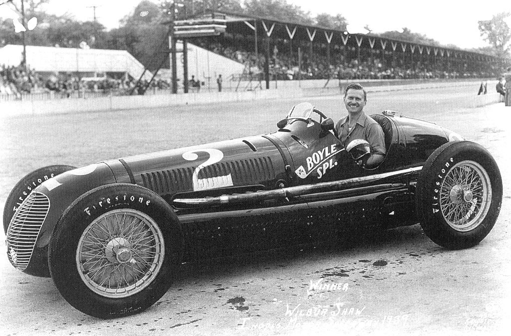 1939 indy500 winner wilbur shaw in his maserati in the 1940s he was hired to test tires for. Black Bedroom Furniture Sets. Home Design Ideas