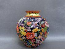 Vaso dipinto con fiori ceramica pinterest vaso ceramica e