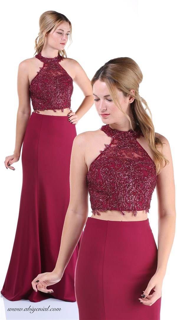 Ikili Abiye Visne Resmi Elbise The Dress Elbise