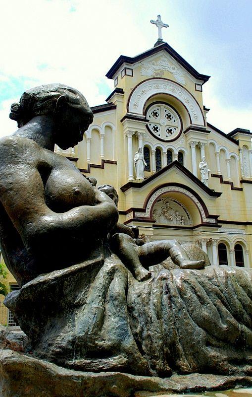 Saint Benedict Church in Campinas, São Paulo. designed by architect Ramos de Azevedo
