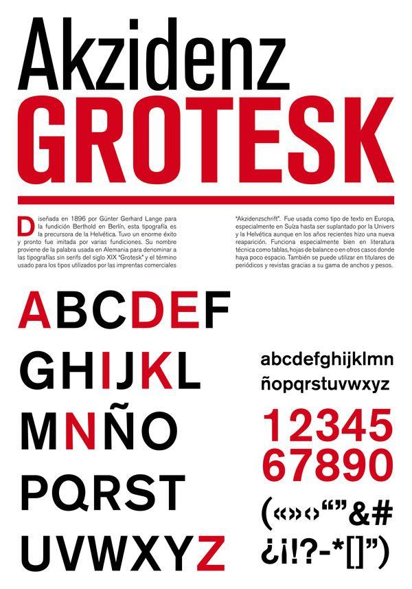 Akzidenz-Grotesk #font #minimalism #sans-serif | Typography