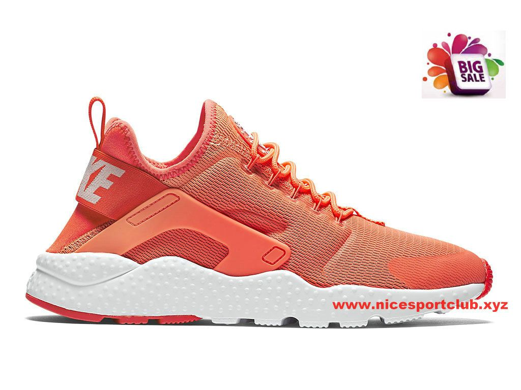 Nike Air Huarache Ultra Femme Pas Cher Rose/Rouge 819151_800