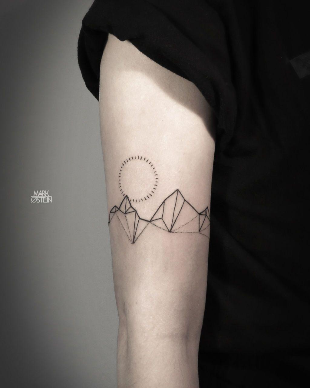 Small Geometric Tattoo Ideas Google Search Small Geometric Tattoo Geometric Mountain Tattoo Simple Tattoos