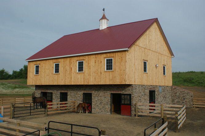 Nice barn for the hobby farmer. | Dream Barn | Pinterest ...