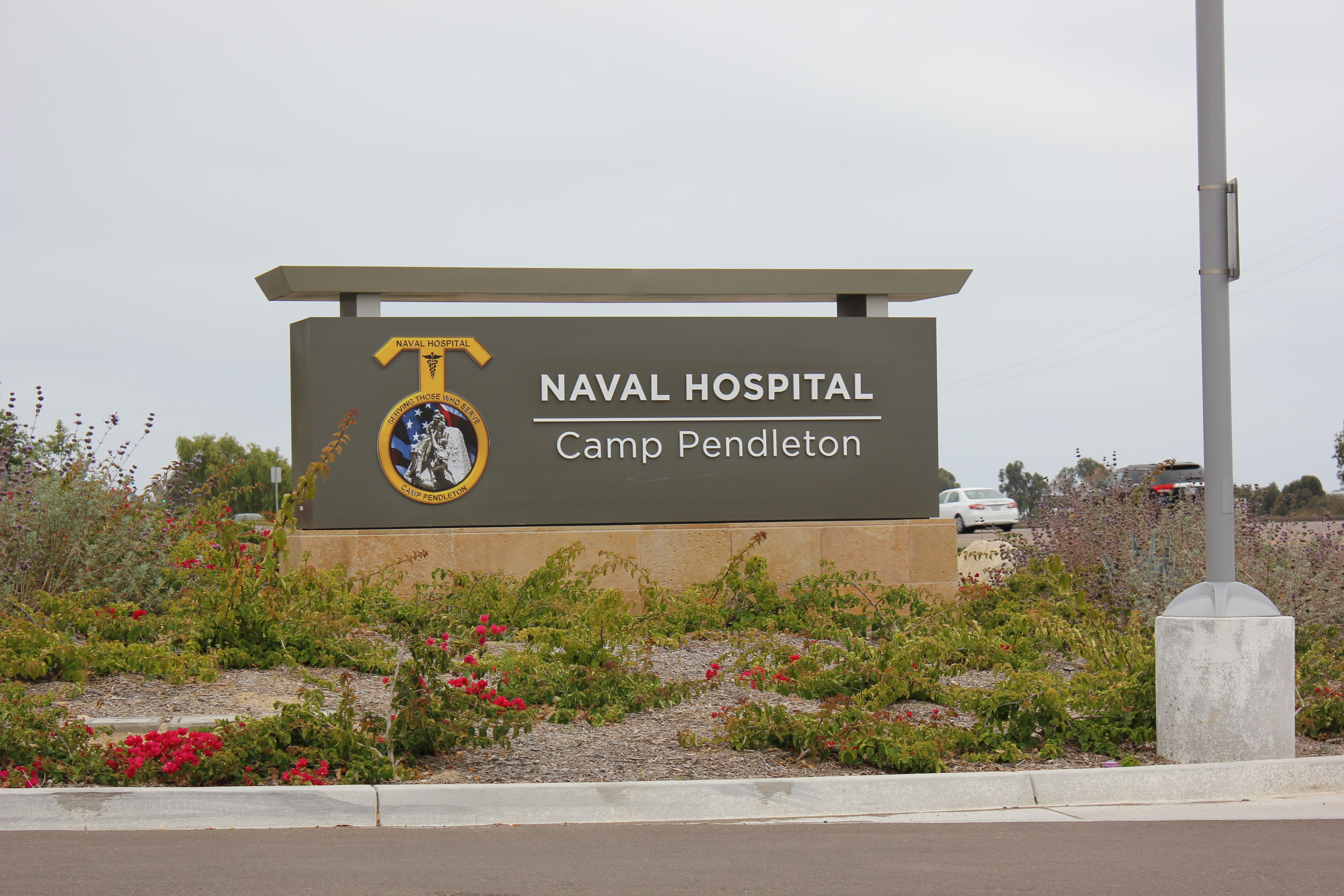 The new Naval Hospital on Camp Pendleton Oceanside CA
