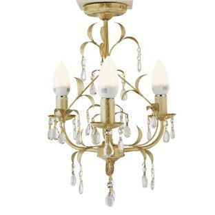 Gemini 3 light ceiling fitting creamgold from homebase gemini 3 light ceiling fitting creamgold from homebase aloadofball Image collections