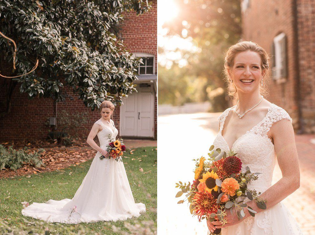 Purple and orange whimsical fall wedding inspiration