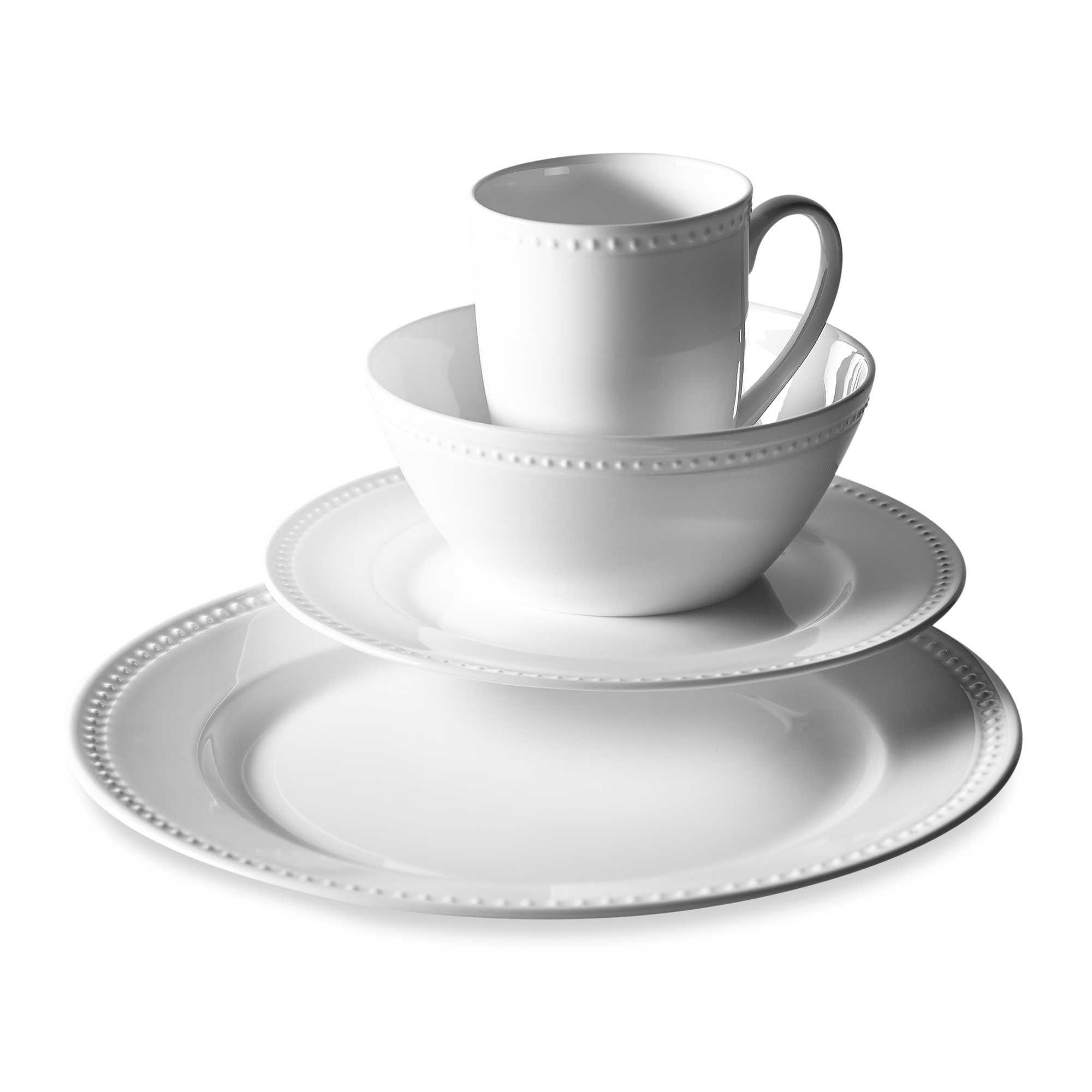 Tabletops Unlimited® Otella Bone China 16-Piece Dinnerware Set. BB&B ...