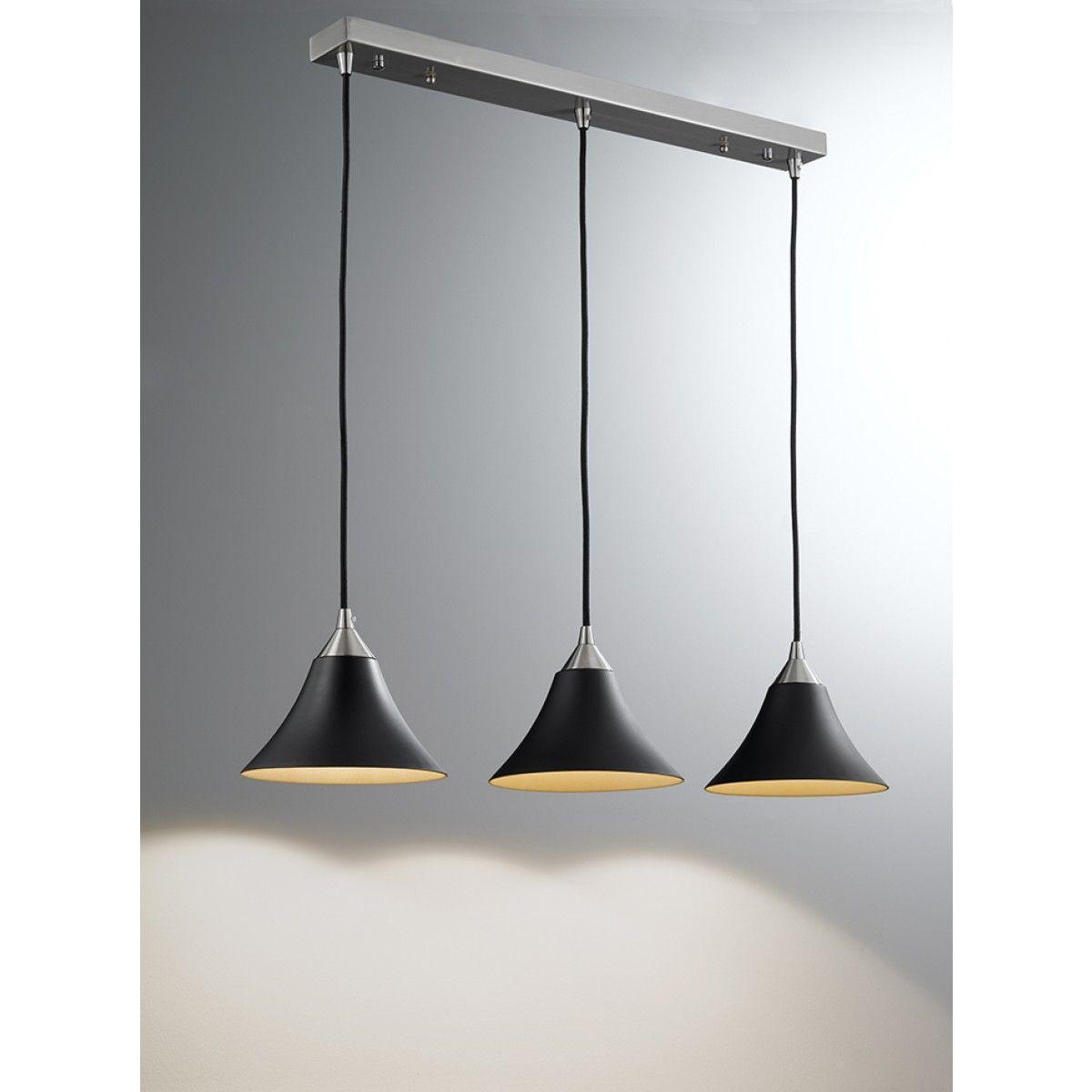 Vetross suspension cw 3 x blackgold colour glasses kitchen vetross suspension cw 3 x blackgold colour glasses pendant lighting ceiling lights aloadofball Gallery