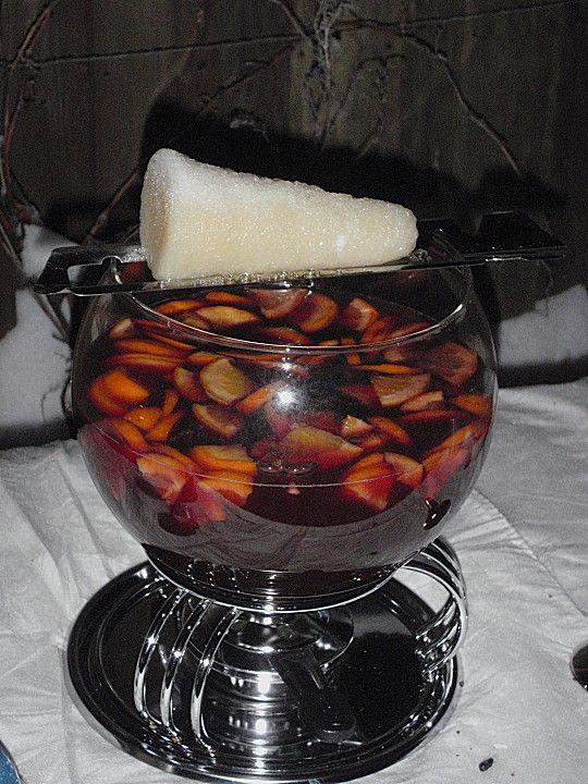 Feuerzangenbowle | Recipe | Likör | Feuerzangenbowle
