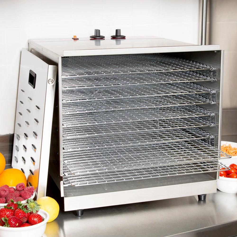 Avantco Cfd10 Ten Tray Stainless Steel Food Dehydrator With Removable Door 120v 1000w In 2020 Steel Racks Dehydrator Recipes Kitchen Decor Wall Art