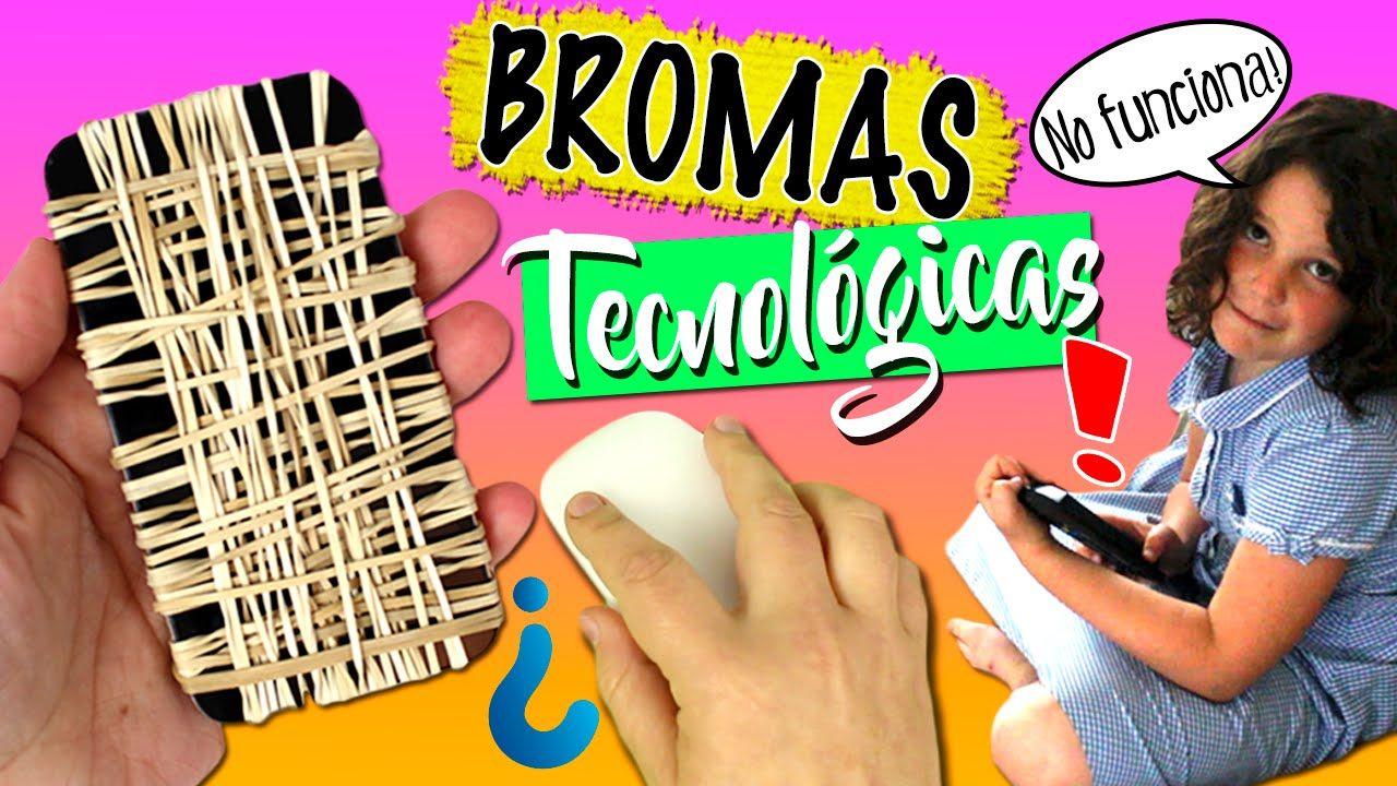 Bromas Caseras Fáciles Bromas Tecnológicas Para Hacer En Casa Bromas Fáciles Bromas Para Hacer Bromas