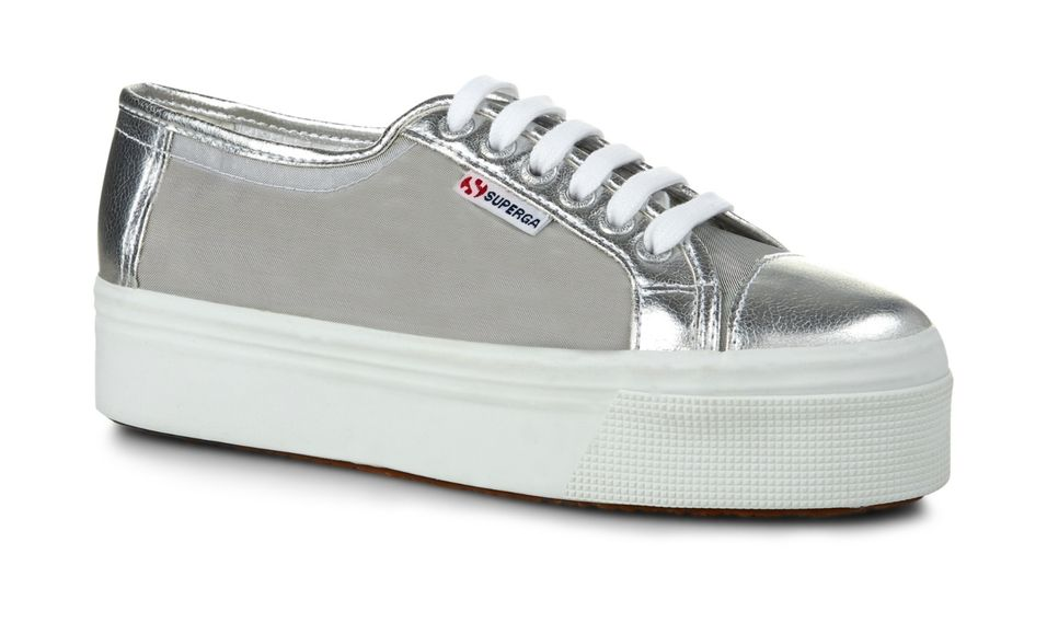 Buy Superga 2790 NETW Silver - Official