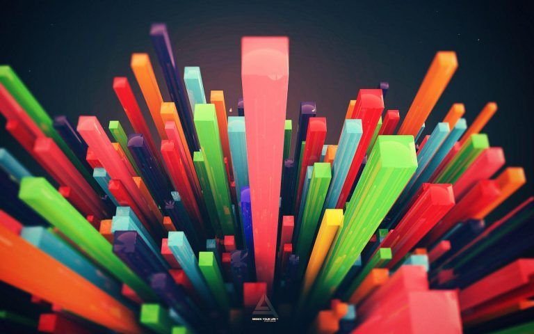 3d Colorful Wallpapers Hd With Images Abstract Wallpaper Art