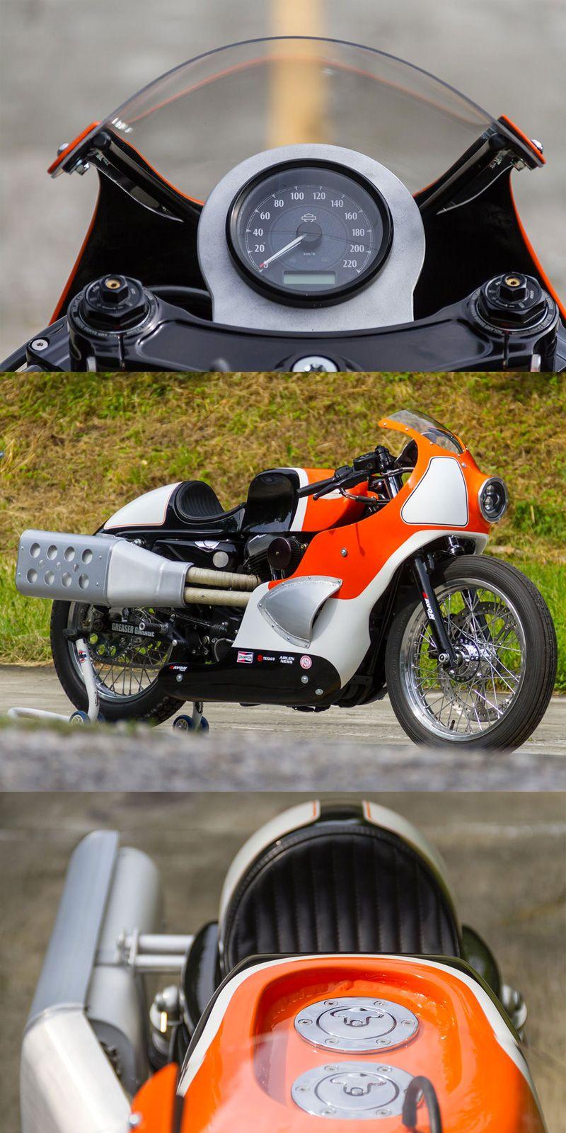 God Hammer Forty Eight Sportster Return Of The Cafe Racers Harley Davidson Cafe Racer Harley