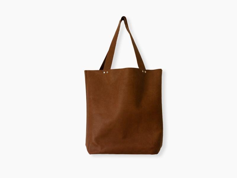 Brown leather bag | Desired-Design