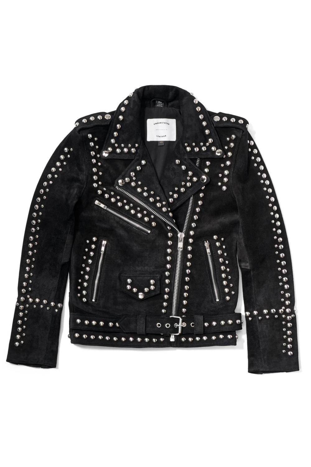 Studded Easy Rider Jacket — Understated Leather