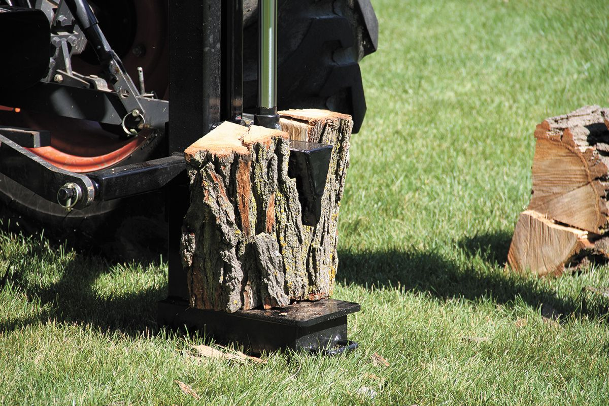 how to use a stump grinder on a skid steer