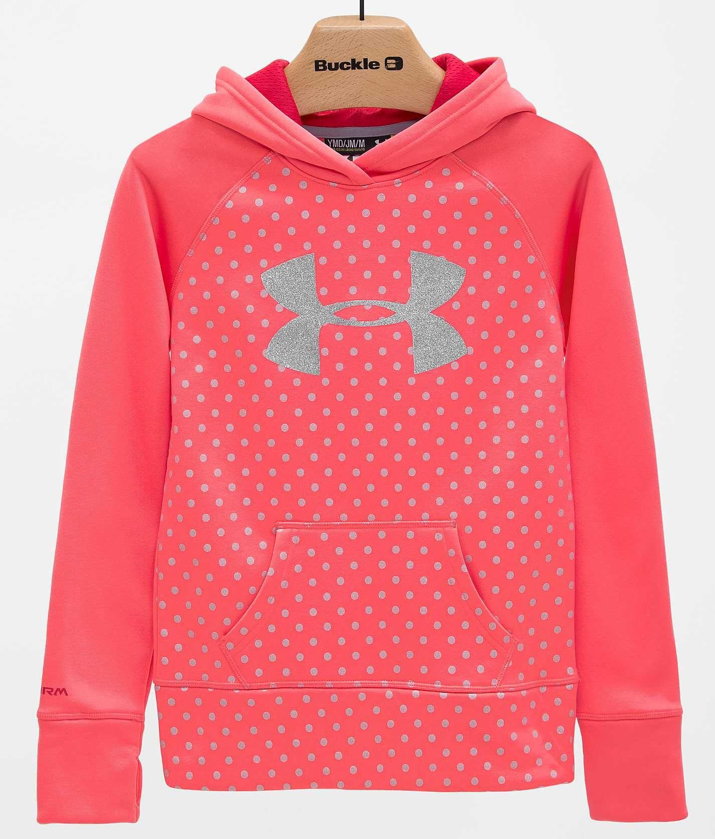Girls - Under Armour Big Logo Sweatshirt - Girl's Sweatshirts ...