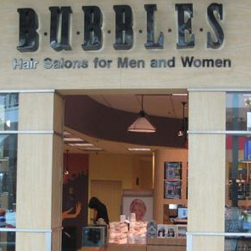 Bubbles Salons Locations, Hair Salons Near My Location