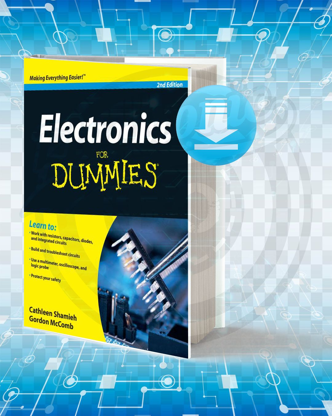 Download Electronics For Dummies Computer Science Projects How Electricity Works Electronic Organization