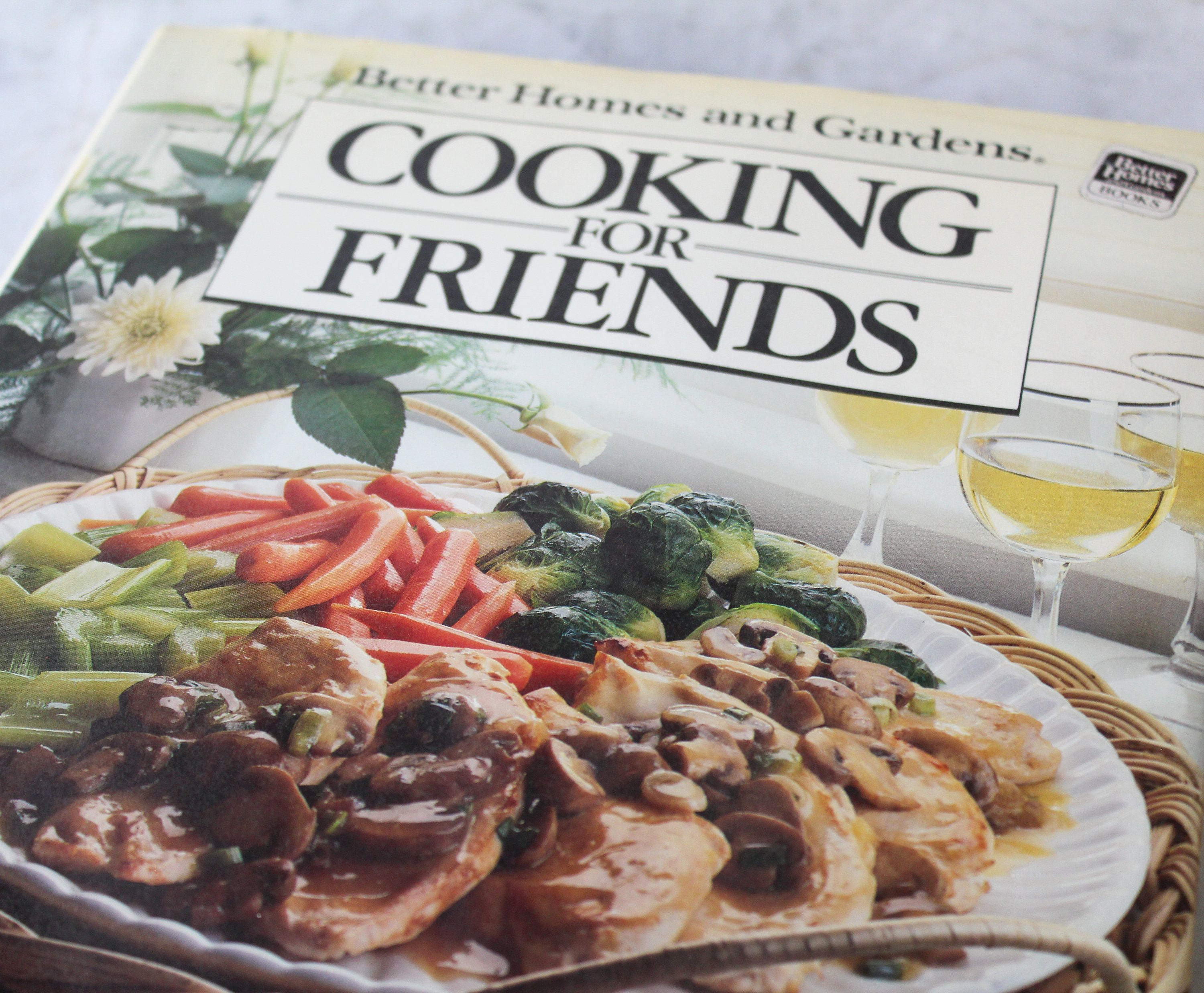 Vintage Cooking For Friends BHG Recipes 1980s