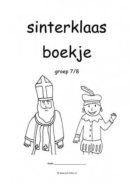 Quatang Gallery- Thema Werkboekjes Sinterklaas Thema Basisonderwijs