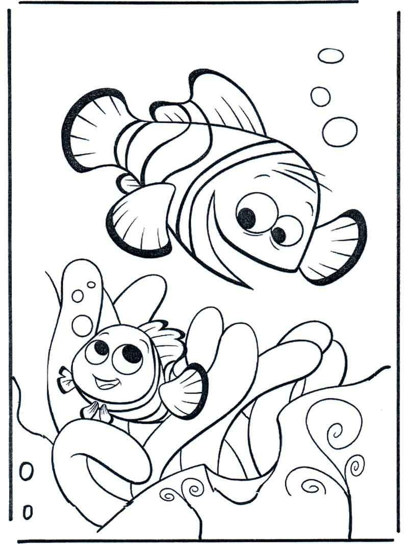 Printable Nemo Coloring Pages For Kids Finding Nemo Coloring Pages Cartoon Coloring Pages Disney Coloring Pages