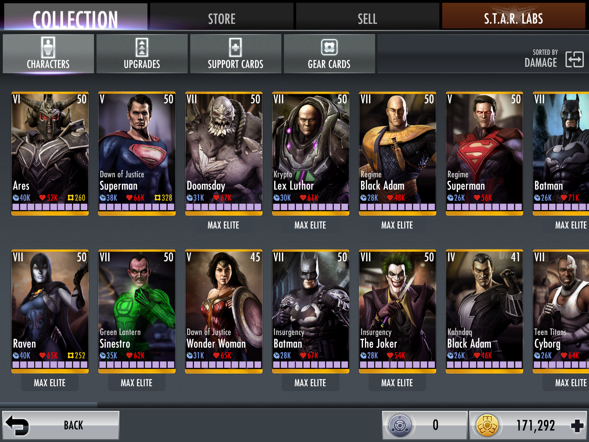 Took me a year to build this ultimate InjusticeGods Among