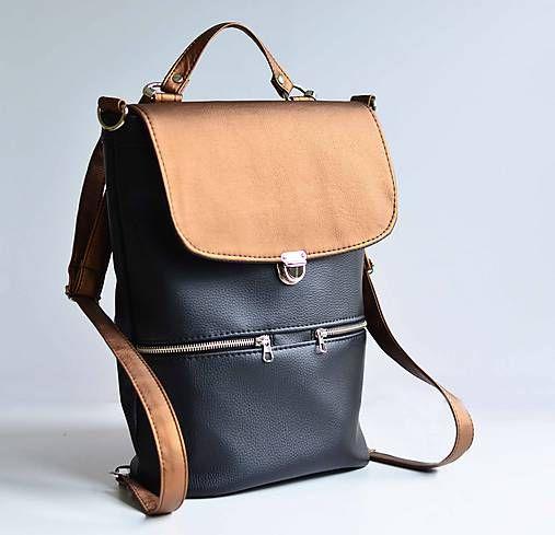 7bfa2e9085 Batoh Hugo je praktický a ozaj variabilný doplnok k Vášmu outfitu. Je  vyrobený z čalúnnickej koženky
