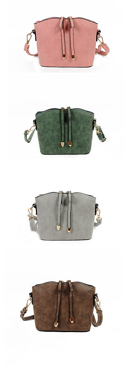 Casual Tuesday - PU cross body mini bag for daily wear. Comes in pink, gry, green, black blue colors at €15.82