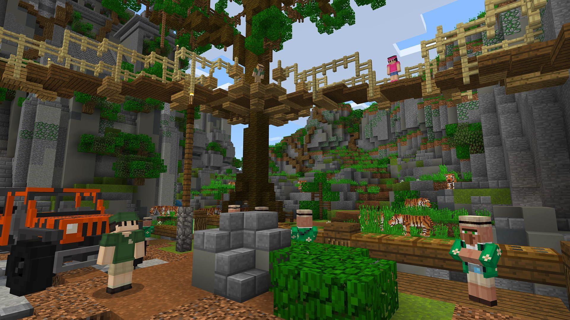 Minecraft Zoo Ideas _ Minecraft Zoo Ideas  Minecraft house