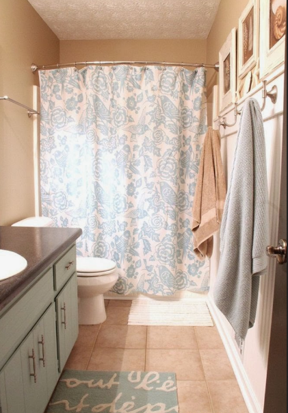 Curved shower curtain rod home depot : Best shower curtain ideas ...