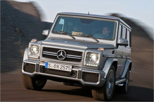 Mercedes brings G 63 and G 65 AMG;Top striker Read more ...