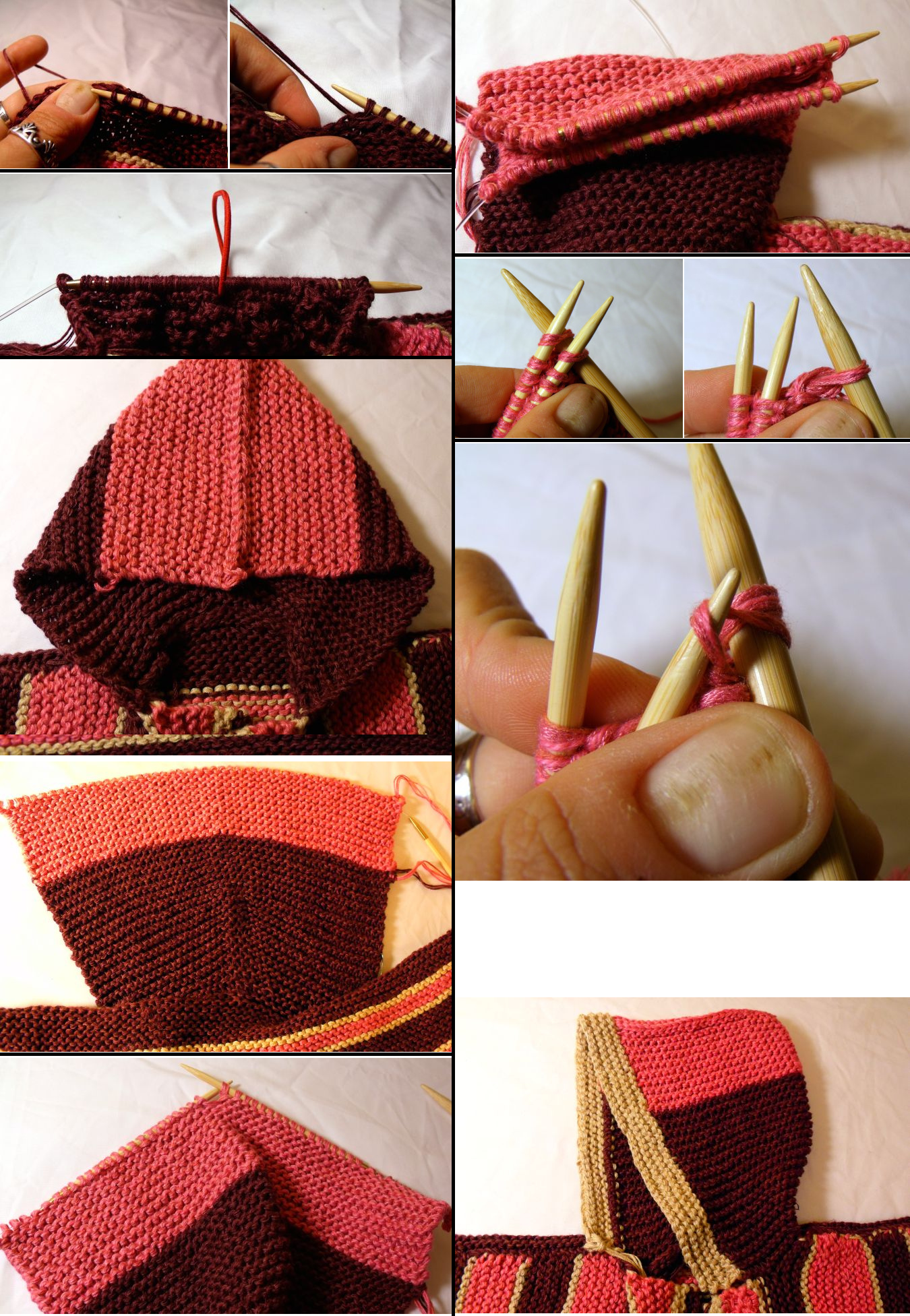 How to Add a Hood to Your Sweater | Free Patterns Project | Pinterest