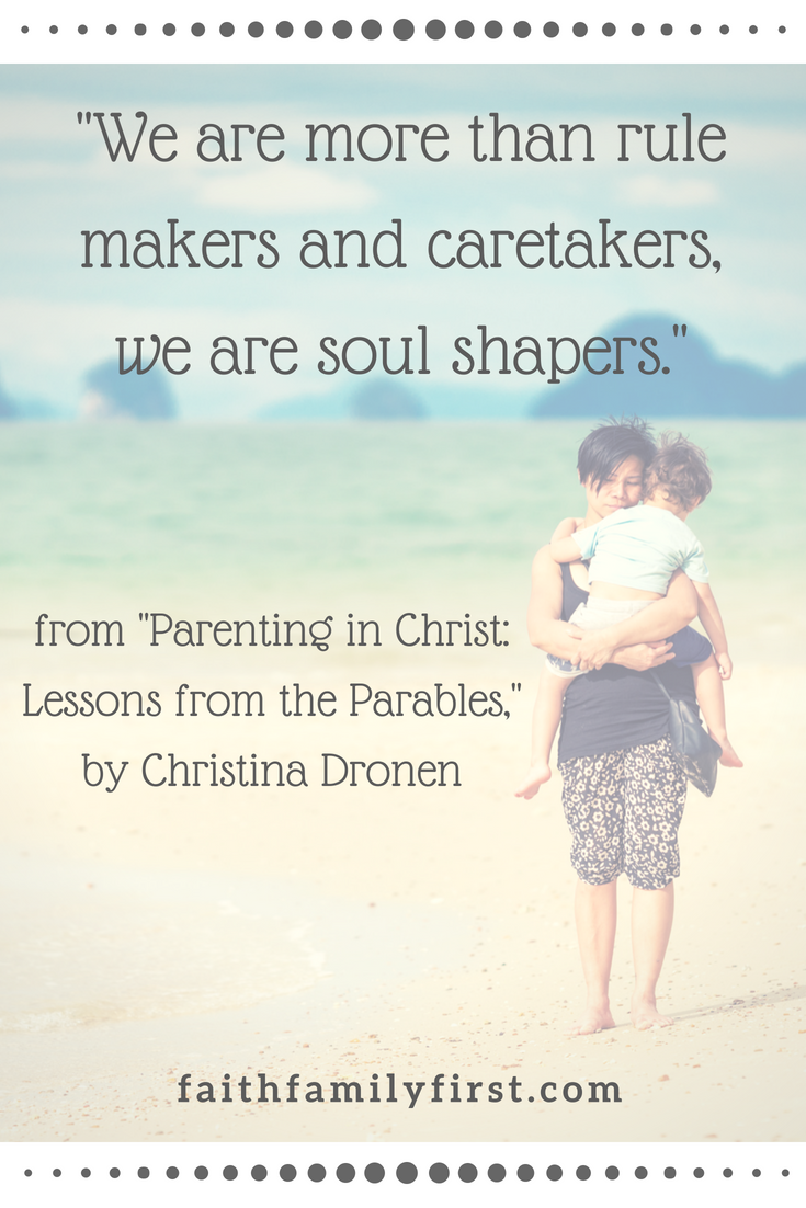 An excellent, faith-based parenting resource and Bible study guide for  individual reflection or