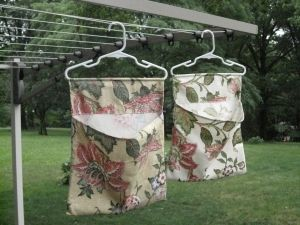 Clothespin Bag Wide Pocket Pattern Project Laundry List