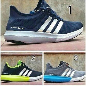 Adidas Boost Gratis Coklat 40 44 Rp 295rb Sepatu