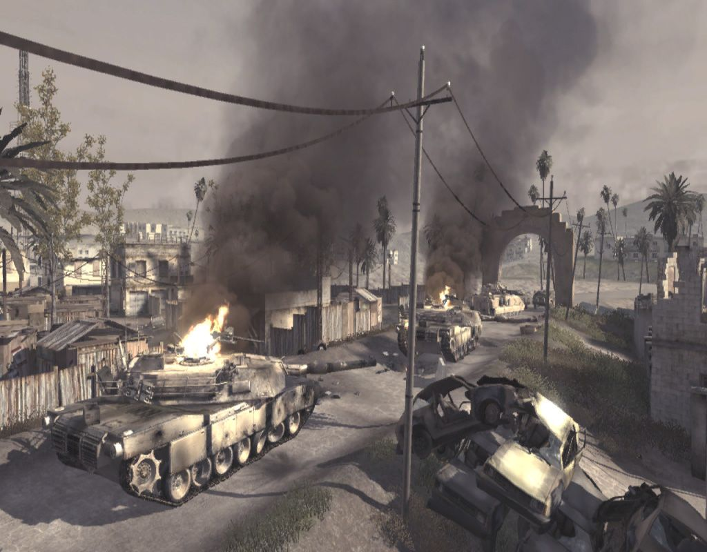 Ambush Is A Call Of Duty 4 Modern Warfare Multiplayer Map Set Around A Convoy Of Broken Down Vehicles And Hosts A Wide V Video Converter Freeware Iphone Video