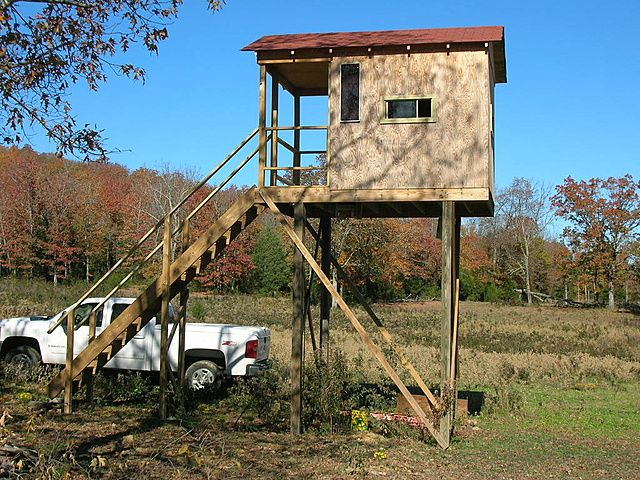 Exceptional Shooting House Plans 2 Elevated Shooting House Plans