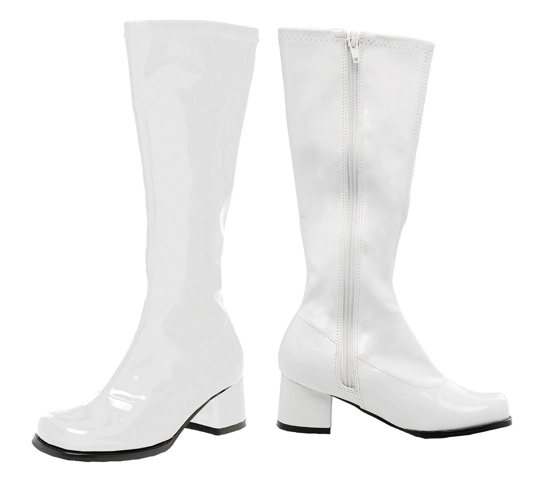 Go Go Boot Child Size 3 White | White gogo boots, Kids boots