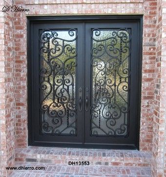 Iron Doors Exterior Traditional Front Doors Dallas D