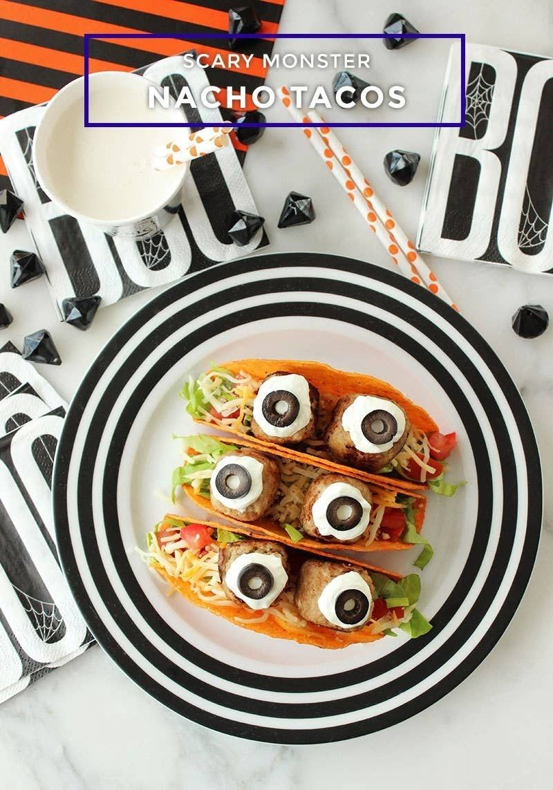 HALLOWEEN MONSTER OREOS PUDDING CUPS